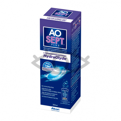 AOSEPT plus HydraGlyde, 360 мл.
