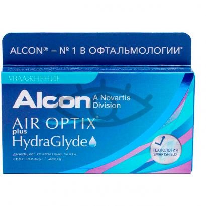 Air Optix plus HydraGlyde 6pk