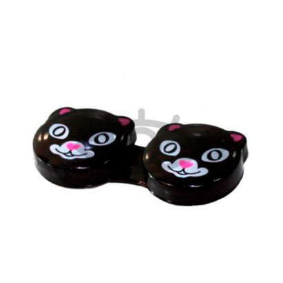 """Контейнер для контактных линз """"Black Cat"""""""